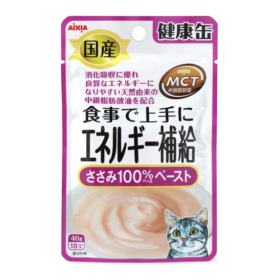 아이시아 건강캔파우치 에너지보충 닭가슴살 100% 페이스트 40g 사진