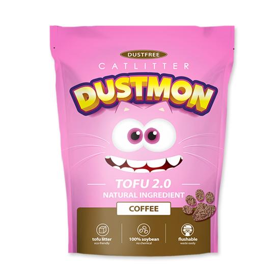 더스트몬 두부모래 가는입자 2.0 커피 3.63kg + 두부모래 부스터 사진