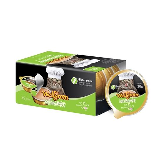 2+1 웰그롬 미우팟 치킨 튼튼닭다리살 글루코사민 6개입 사진