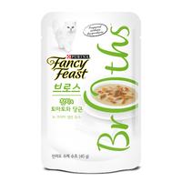 퓨리나 팬시피스트 로얄 브로스 참치&토마토와 당근 크리미 육수 파우치 40g