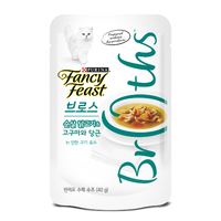퓨리나 팬시피스트 로얄 브로스 순살 닭고기&고구마와 당근 진한육수 파우치 40g