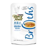 퓨리나 팬시피스트 로얄 브로스 참치, 새우&흰살생선 진한 육수 파우치 40g