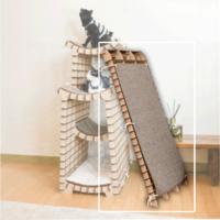 네꼬모리 키티온더힐 전용 스크래쳐보드 (별도구매) -카페트 99x39cm 1매 포함