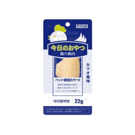 펫메이드 오늘의 간식 닭가슴살 가다랑어맛 22g 사진
