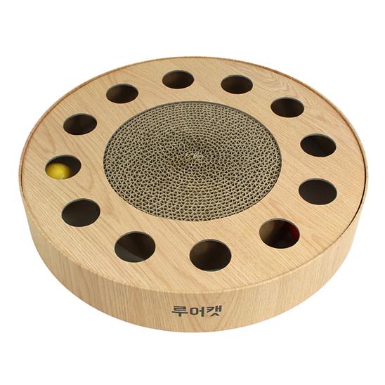 루어캣공방 플레이볼 서클 멀티홀 + 싱그런 캣닢 사진
