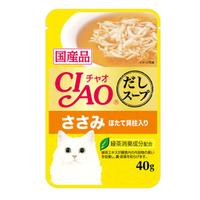 챠오 수프 참치&닭가슴살&가리비맛 40g