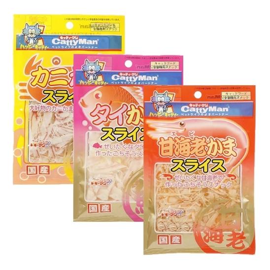 캐티맨 맛살 슬라이스 3종 콤보 사진